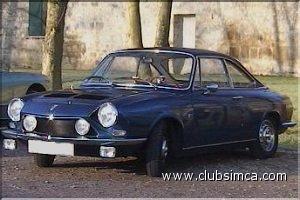 Simca 1000 et d riv es club simca france - Simca 1000 coupe bertone occasion ...